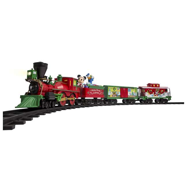 711773 Lionel Trains Mickey Mouse Express Disney Christmas Train Set (For Parts)