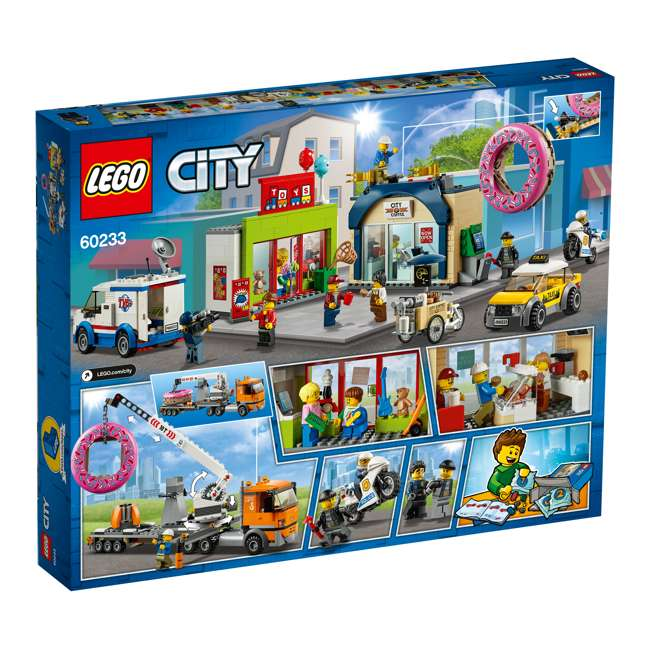 6251763 LEGO City 60233 Donut Shop Opening Town Playset Toy 790 Piece Block Building Set 5