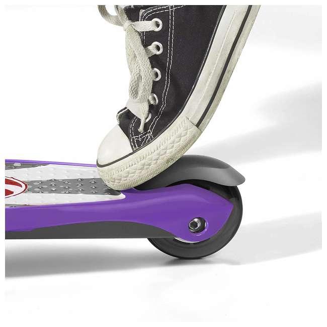 549PPZ Radio Flyer 549BZ Lean 'N Glide Kids 3-Wheel Scooter w/ Light Up Wheels, Purple 2