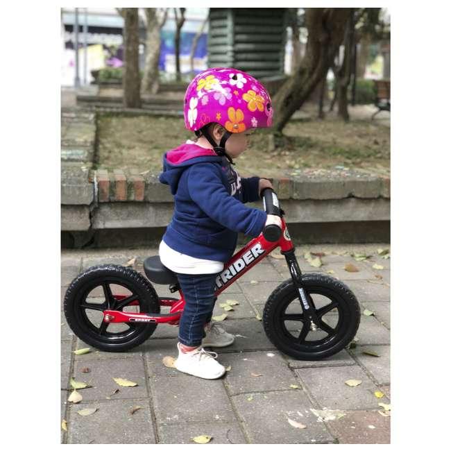 ST-S4RD Strider 12 inch Sport Toddler Training Adjustable Balance Bike, Red (2 Pack) 6