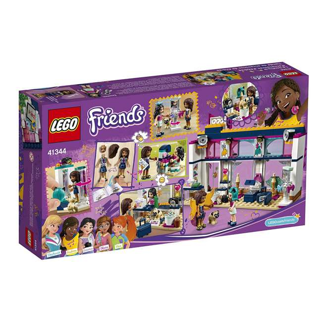 6213474-U-A LEGO Friends Andrea's Accessories Store Block Building Kit Set (Open Box) 3