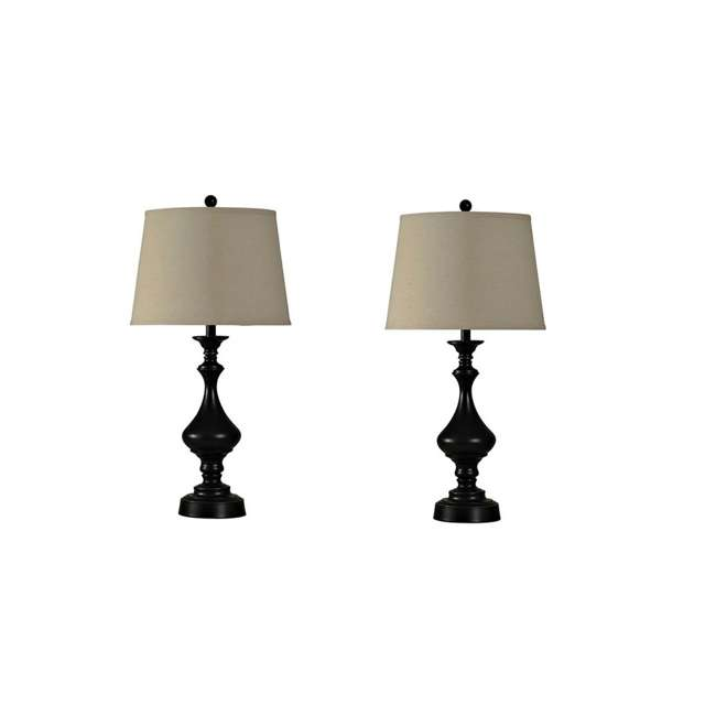 SC-L82233 Abode 84 Home Collection 3 Bronze Metal Lamps 2