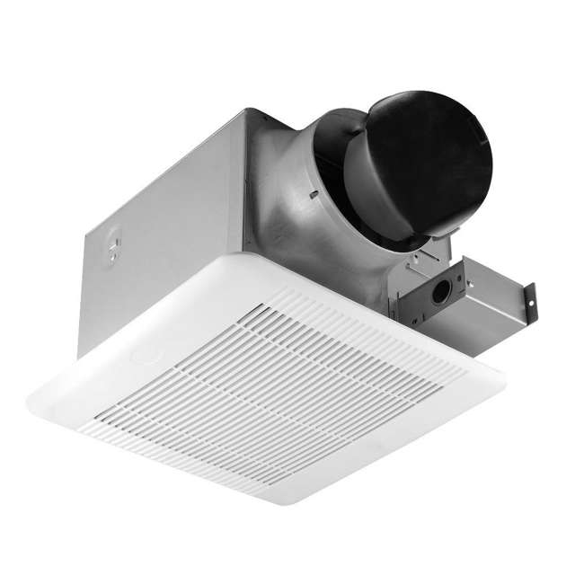 4 x GBR100 Delta Breez 100 CFM Single Speed Bathroom Ceiling Fan with LED Light (4 Pack) 1