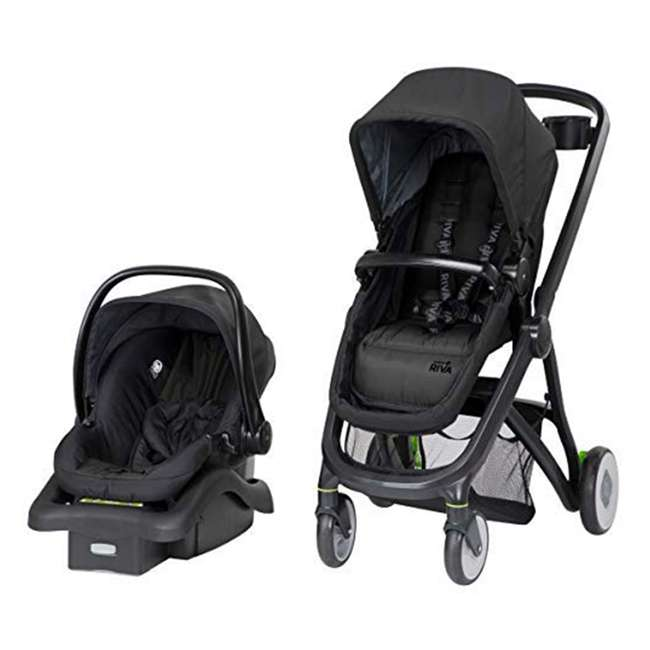 TR394ESU Safety 1st Riva 6 in 1 Flex Modular Lightweight Baby Travel System, Gray Canyon