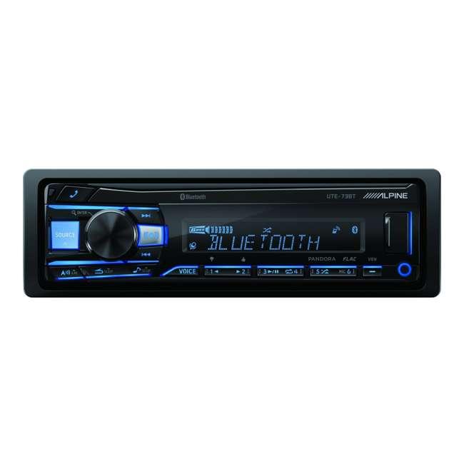 UTE-73BT Alpine UTE-73BT Advanced Bluetooth Mech-Less Digital Receiver 1