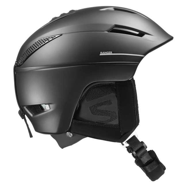 L40535400-M Salomon Ranger Square C Air MIPS Black Helmet, Medium