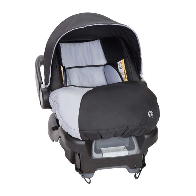 CS79B51A-U-A Baby Trend Flex-Loc 35 Pound Infant Car Seat and Car Base (Open Box) (2 Pack) 3