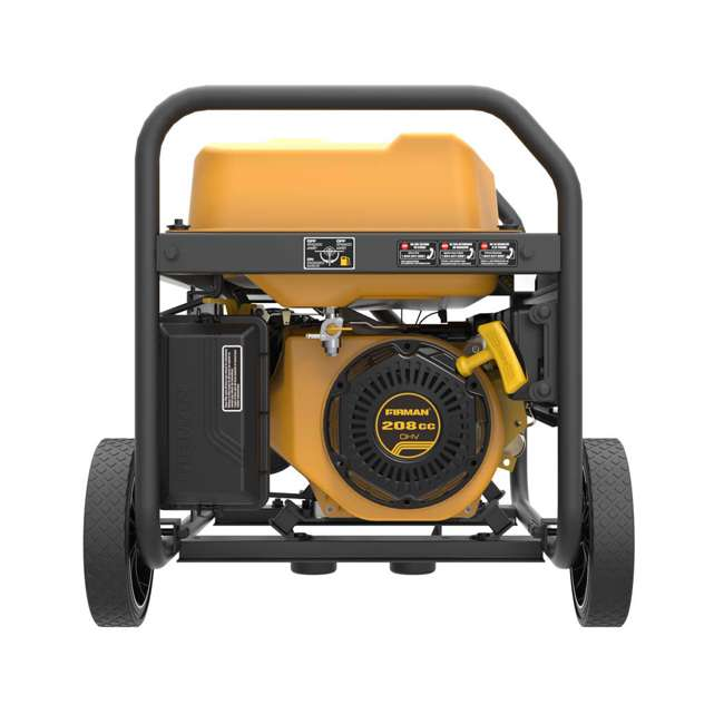 P03602 Firman P03602 3650W Wheeled Electric Recoil Start Inverter Generator 4
