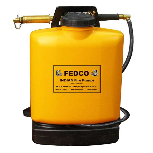 FDC-190387 Indian FEDCO 5-Gallon Backpack Fire Hand Water Extinguisher (2 Pack) 1