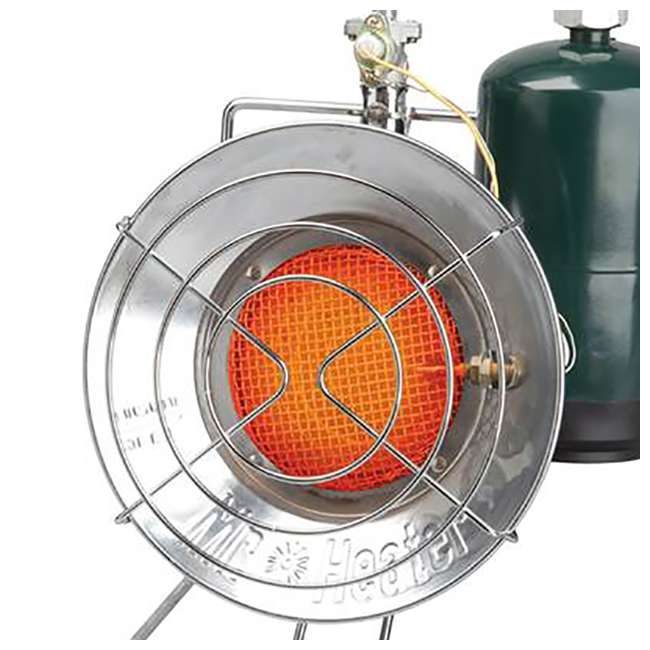 MH-F242300-U-C Mr. Heater 15,000 BTU Propane Gas Tank Top Outdoor Heater and Cooker (For Parts) 4