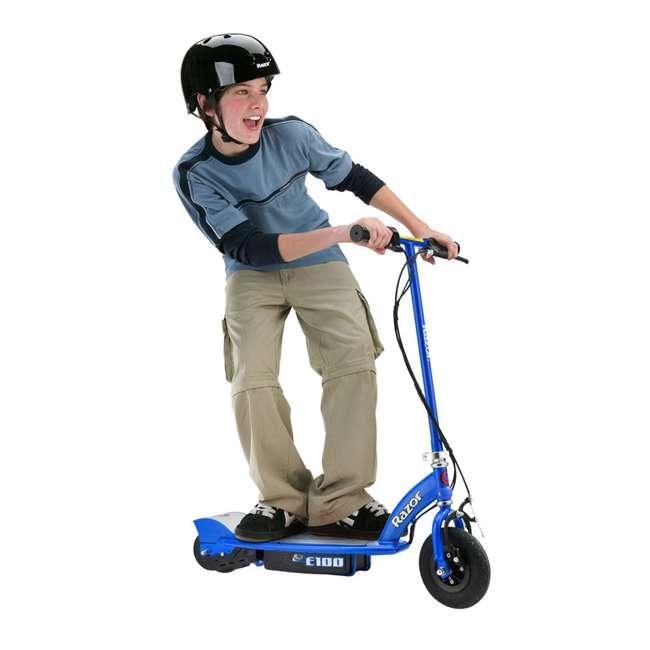 13111240 Razor E100 Electric Scooter, Blue 1