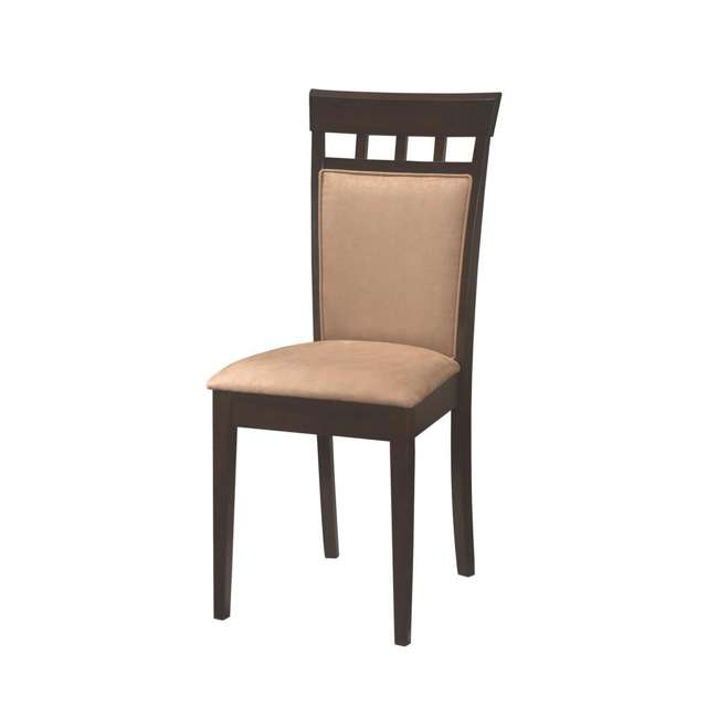3 x 100773ii-PAIR Coaster Home Furnishings Gabriel Wheat Back Side Dining Room Chairs (6 Pack) 3