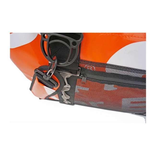 PB 549 Polar Bear Coolers 48 Pack Waterproof Leakproof H2O Cooler, Tangerine 1