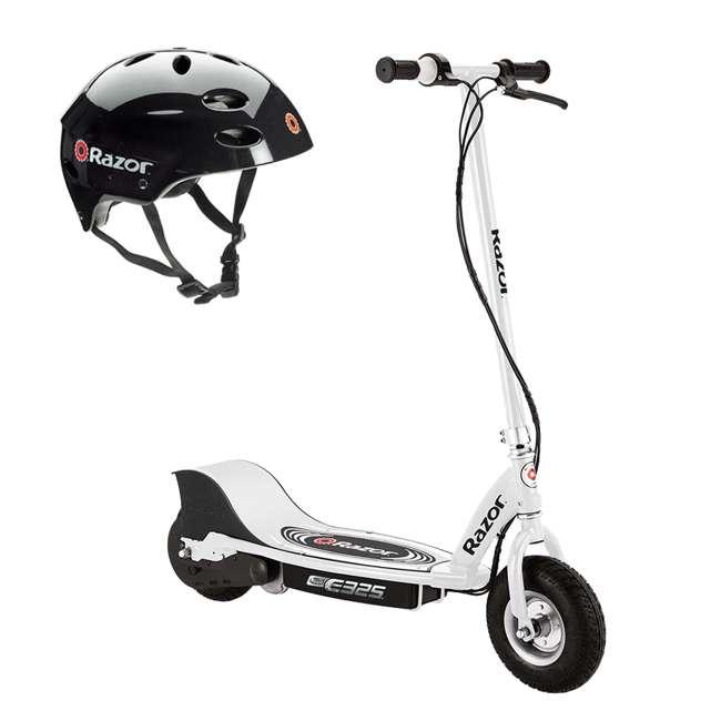 13116310 + 97778 Razor E325 Electric Scooter + Youth Helmet
