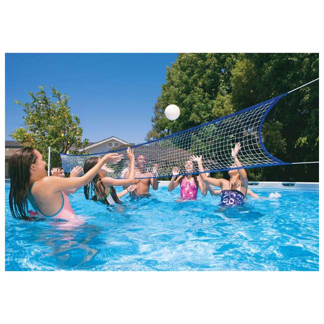 "26335EH + QLC-57610 Intex 18' x 52"" Ultra Frame Pool Set with Pump, Volleyball Set & Winterizing Kit 5"