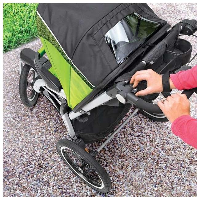 CHI-0707910384-OB Chicco TRE Lightweight Jogging Stroller, Titan (Open Box) 5