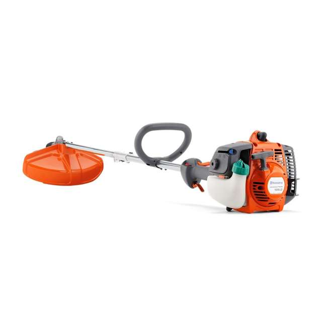 HV-TR-952711953 + HV-TOY-585729102 Husqvarna 128LD Gas Powered Lawn Trimmer & Battery Operated Toy Weed Trimmer 1