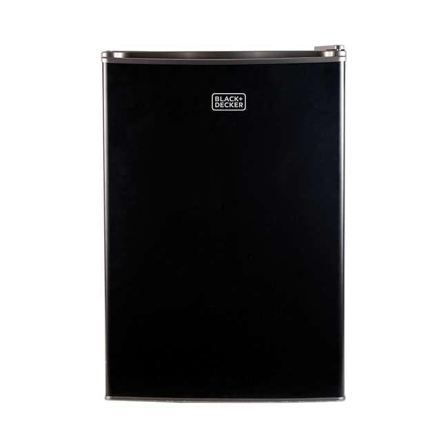 BCRK25B-U-A Black and Decker 2.5 Cubic Foot Energy Star Refrigerator with Freezer (Open Box) 3
