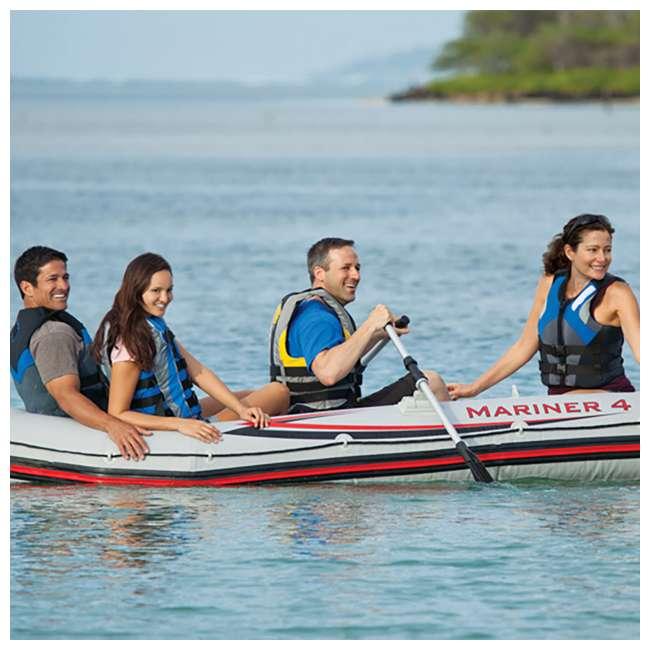 68376EP Intex Mariner 4-Person Inflatable Boat Set  5