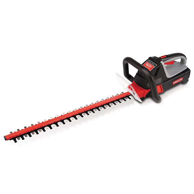 ORE-551275 Oregon HT250 24-Inch 40-Volt Cordless Battery Hedge Trimmer