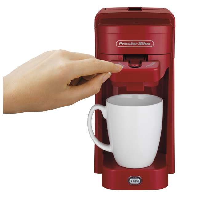 49964 Proctor Silex 10-Ounce Single-Serve Coffee Maker 2
