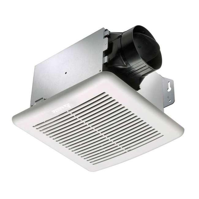 GBR80 Delta Electronics GBR80 Breez Green Builder Bathroom Fan, 80 CFM, 4 Inch Duct