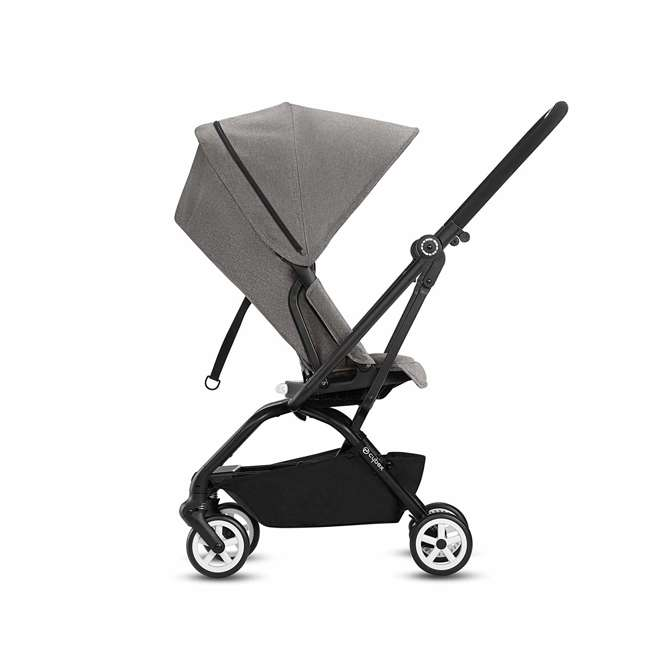 518001259  Cybex Eezy S Twist Travel System Baby and Toddler Stroller w/ Sun Canopy, Black 4