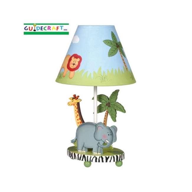 G83207 Guidecraft Safari Table Lamp