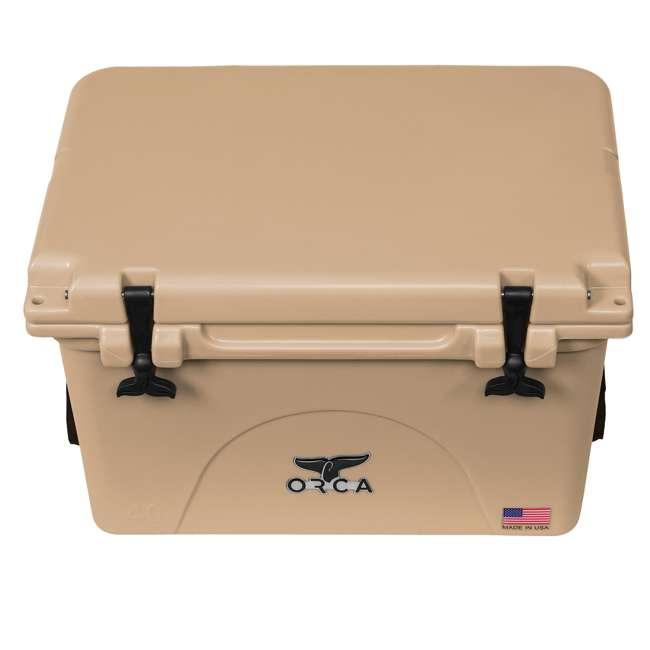 ORCT040 ORCA 40-Quart 8.3-Gallon Ice Cooler, Tan 2