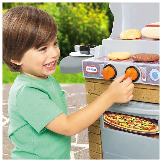 633911M Little Tikes Cook 'n Play BBQ Grill Set 4