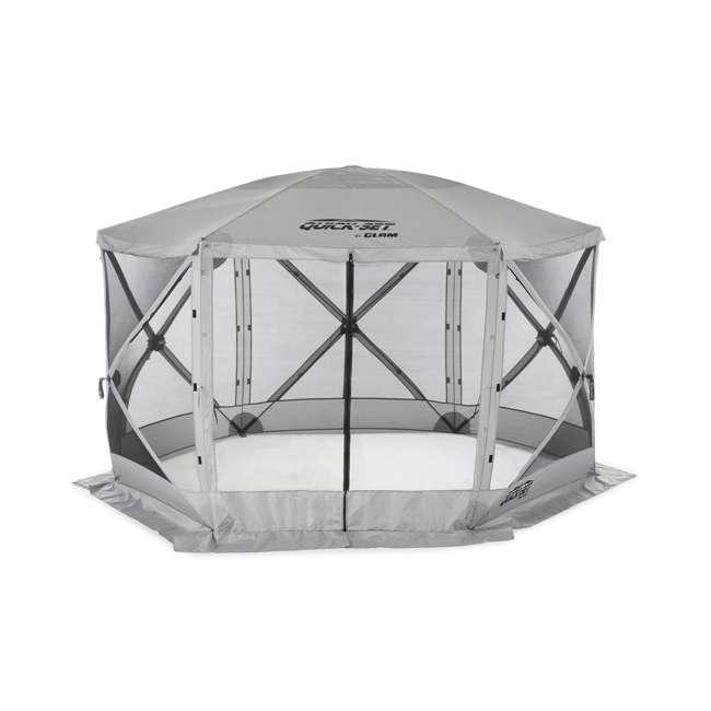 CLAM-ES-114246 Clam Quick-Set Escape Portable Outdoor Gazebo Canopy (2 Pack) 2