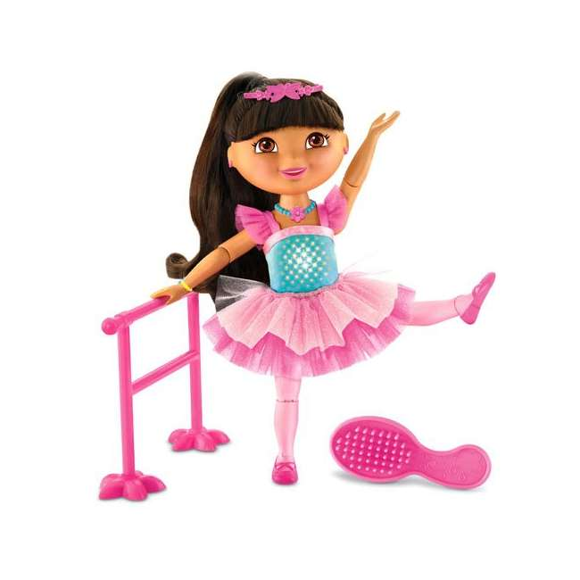 V4437 Fisher Price Dance & Sparkle Dora the Explorer Ballerina