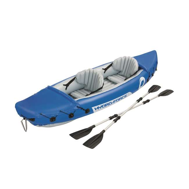 "65077E-BW-U-A Bestway 126 x 35"" Lite-Rapid X2 Inflatable Kayak w/ Oars (Open Box) (2 Pack)"