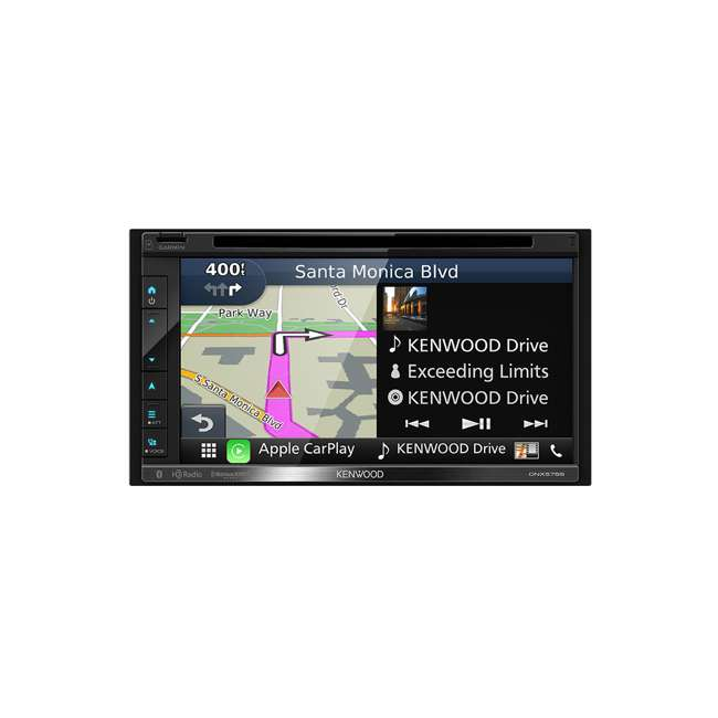 DNX575S Kenwood DNX575S 2-Din 6.8-Inch Multimedia Receiver with GPS 5