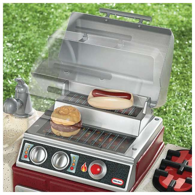 624483X1 Little Tikes Backyard Barbecue Get Out 'N' Grill Set 3