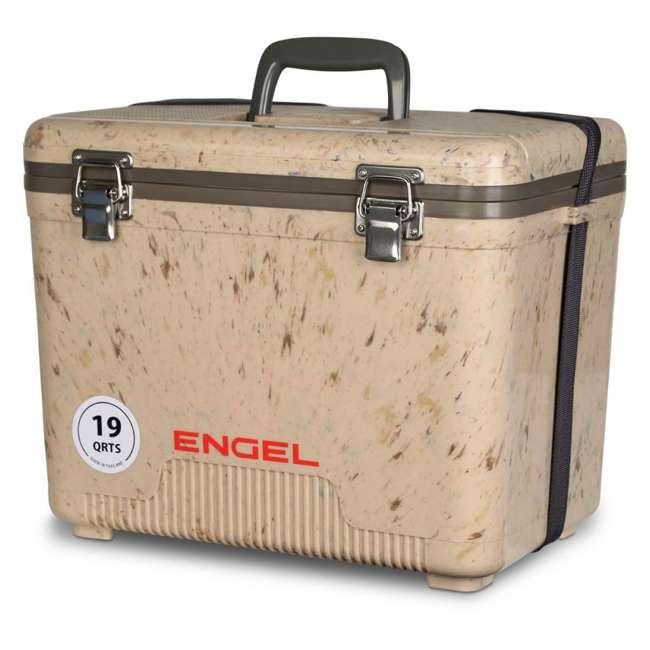 UC19C1 Engel 19-Quart Lightweight Dry Box Cooler, Grassland