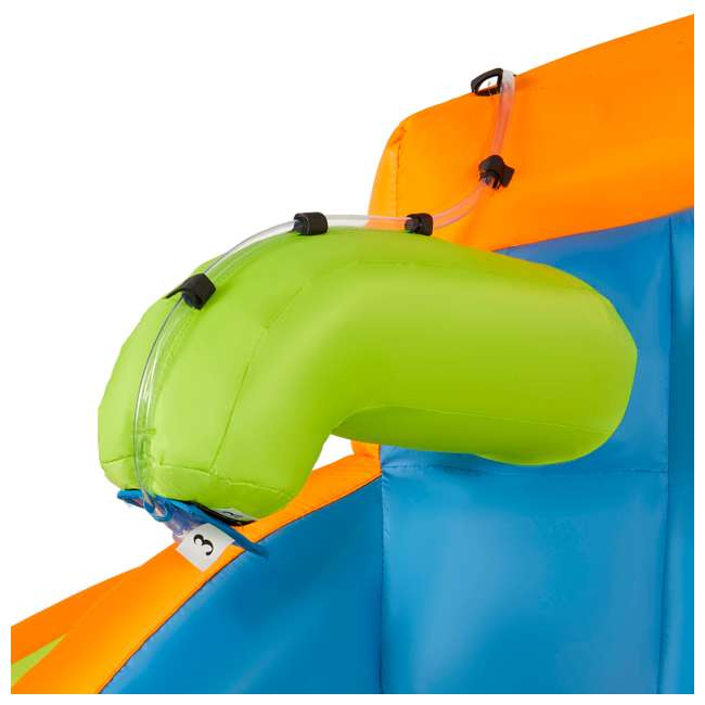 BAN-90369 Banzai 90369 Adventure Club Water Park Inflatable 2 Lane Water Slide Splash Pool 5