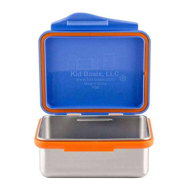 894148002794 + 894148002916 + 894148002091 Kid Basix 23 Ounce, 13 Ounce Stainless Steel Lunch Box and 12 Ounce Water Bottle 5