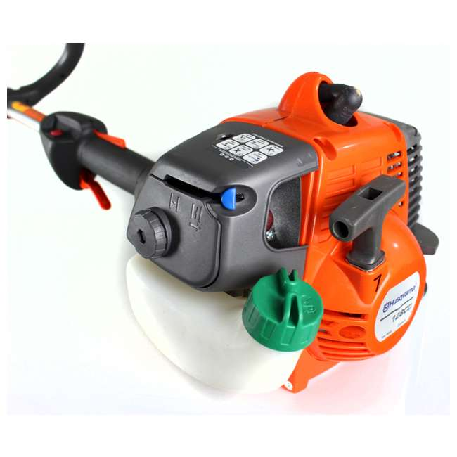 HV-TR-952711952 + HV-TOY-585729102 Husqvarna 2 Cycle Gas Powered Lawn Trimmer & Battery Operated Toy Weed Trimmer 6