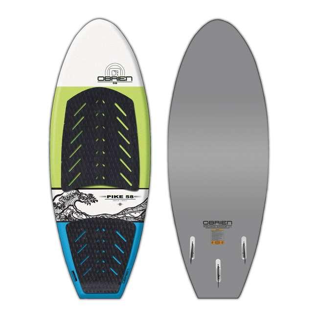 2191174-MW O'Brien Watersports Pike Foam Deck Ultralight Stringer Core Wakesurf Board