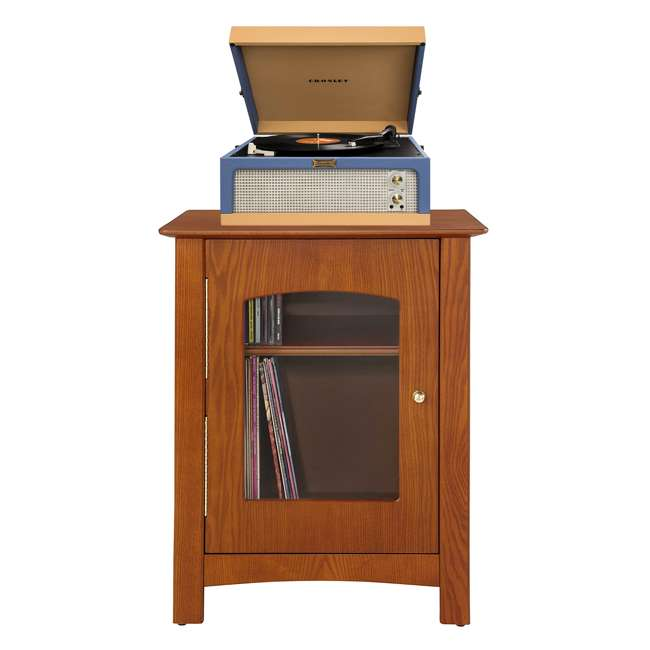 CR6234A-BT Crosley Dansette Junior Vintage-Style Portable Turntable, Blue and Tan 1
