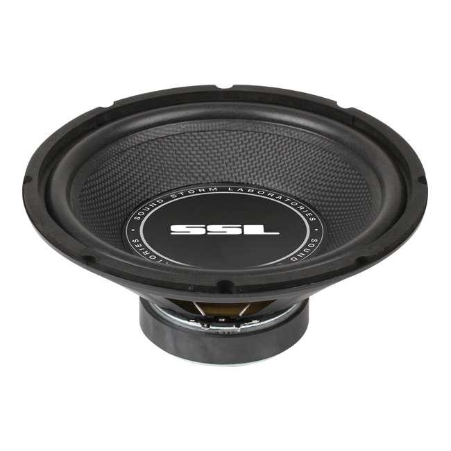 4 x SS10 SoundStorm SSL 10-Inch 600W Subwoofer (4 Pack) 2