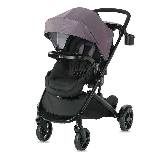 2080526 Graco Modes2Grow Baby Stroller & SnugRide Infant Car Seat Travel System, Kinley 1