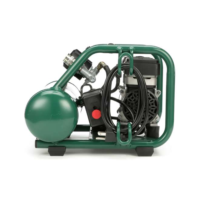 AB5PLUS Rolair AB5PLUS 1 Gallon 0.5HP 90 PSI Quiet Portable Pump Electric Air Compressor 2