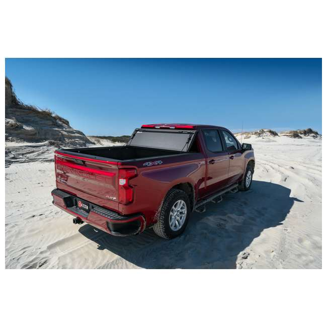 """448130-BAK BAK BAKFlip MX4 Hard Folding Tonneau Cover for 2019 Chevy Silverado 5' 8"""" Bed 10"""