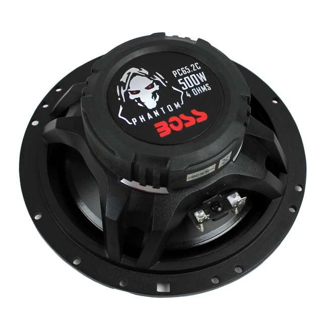 PC652C Boss 6.5-Inch 500 Watt Component Speakers (Pair)   PC65.2C 2