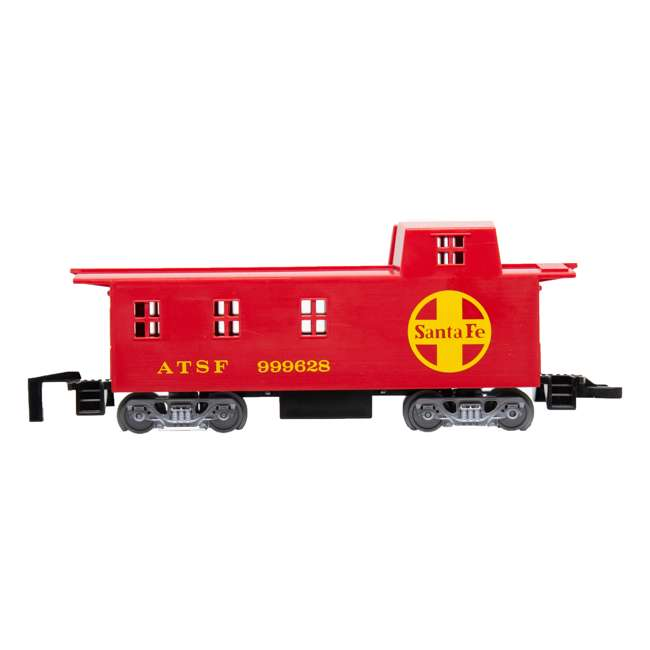 00958 Bachmann Industries 24-Piece HO Scale Battery Operated Rail Express Kid Train Set with Sound, Yellow 4