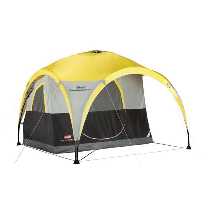 Coleman Two Person 2-for-1 All Day Dome Tent w/ Shelter ...