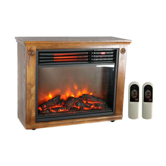 LS-1111HH-2 LifePro LS-1111HH 3 Element Electric Fireplace Heater