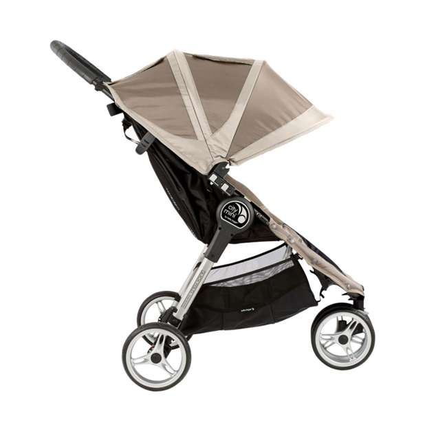 Baby Jogger City Mini Folding Travel Stroller Sand Stone